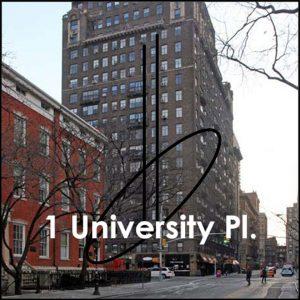 No1, University Place, NYC